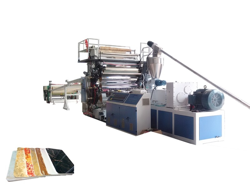 PVC Imitation Marble Wall Panel Production Line