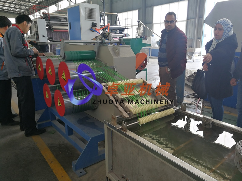 Rope filament machine