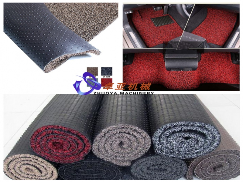 PVC car mat machine